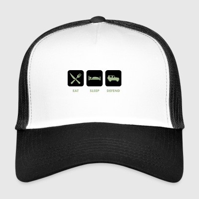 Eat, Sleep & Forsvar - Trucker Cap
