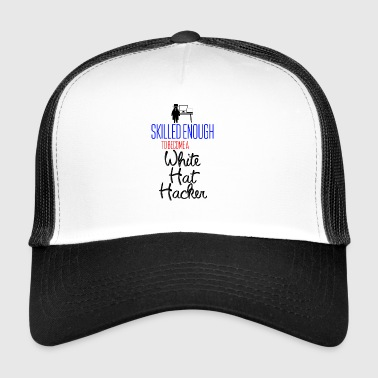 White Hat Hacker - Trucker Cap