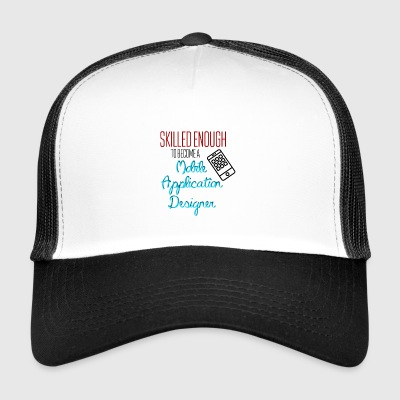 Mobile Application Designer - Trucker Cap