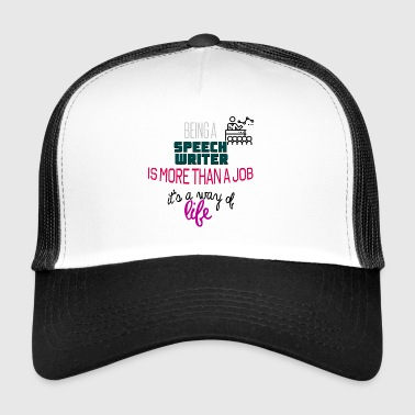 Speech writer - Trucker Cap