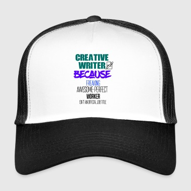 Creative writer - Trucker Cap