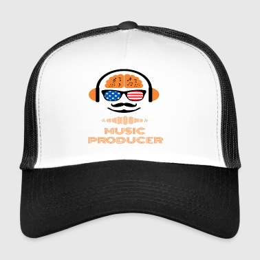 Gift for DJ's and producers - Trucker Cap
