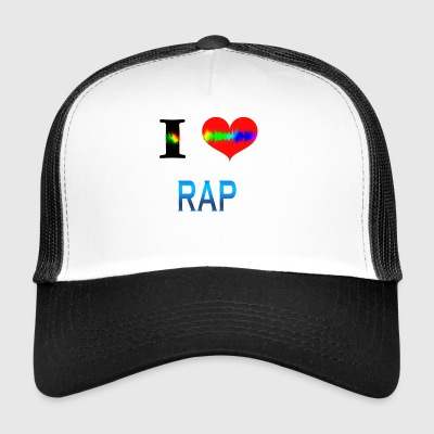 I Love RAP - Trucker Cap