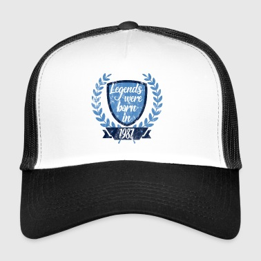 Legends föddes 1987 - Trucker Cap