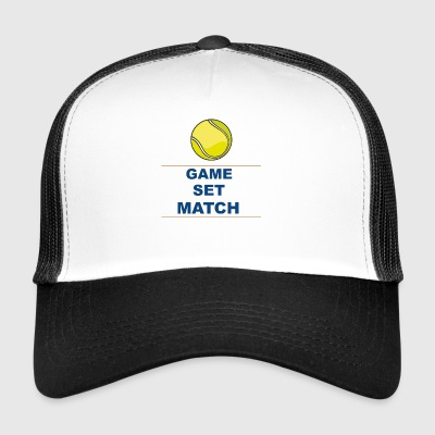 gamesetmatch - Trucker Cap