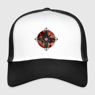 Boussole Map - Rouge - Trucker Cap