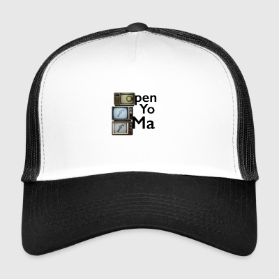 open you main - Trucker Cap