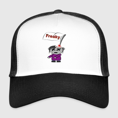 Freaky Happy Halloween freakig krass blood - Trucker Cap