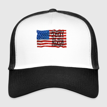 Septmenber 11 2001 Gift World Trade Center - Trucker Cap