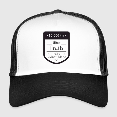 Ultra Trails mont blanc t shirt - Trucker Cap