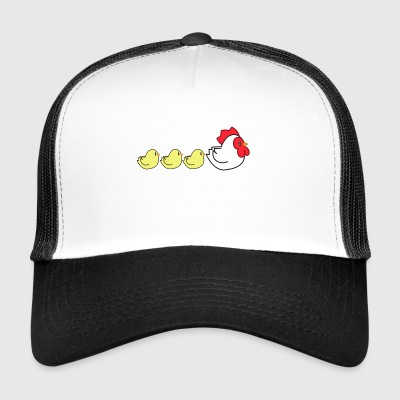 Chicken Family - Trucker Cap