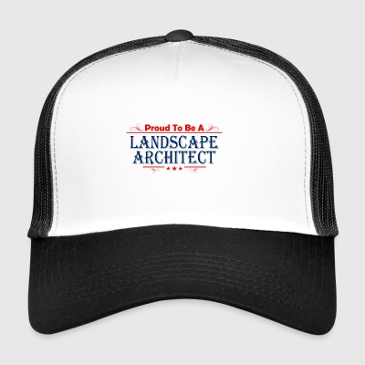 01 landscape architect copy - Trucker Cap