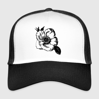 Head Illustration - Trucker Cap