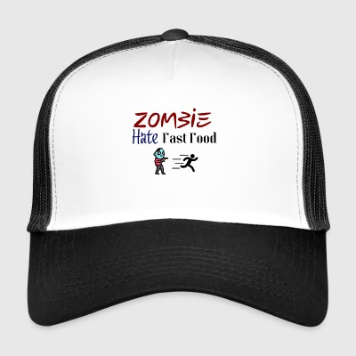 Truth sayings about zombies - Trucker Cap