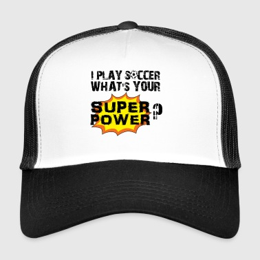 Piłka nożna Super prezent power ball tor stóp - Trucker Cap