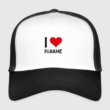 I love Paname - Trucker Cap