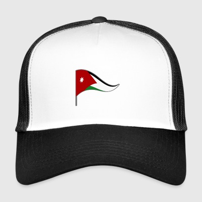 Jordan Amman Arab flag flag national colors - Trucker Cap