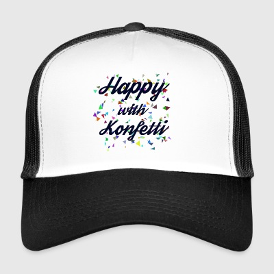 Happy with Konfetti - Trucker Cap