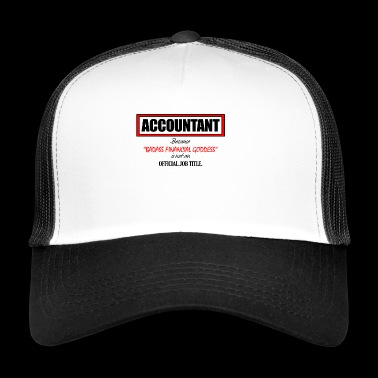Accountant - Trucker Cap