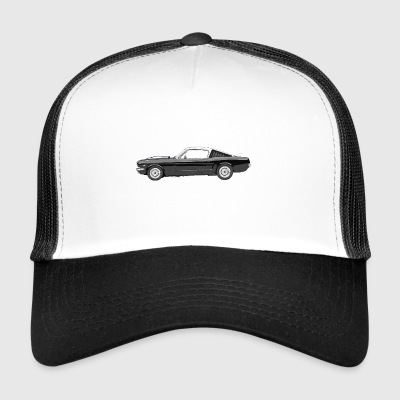 Muscle Car - Trucker Cap