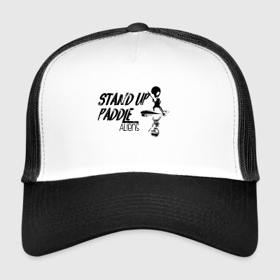 Stand up Paddle Aliens svart 2 - Trucker Cap