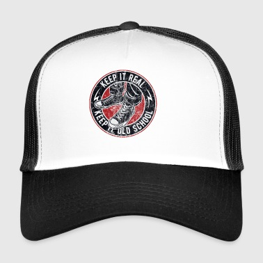 Keep it real - Sneaker shirt - Trucker Cap