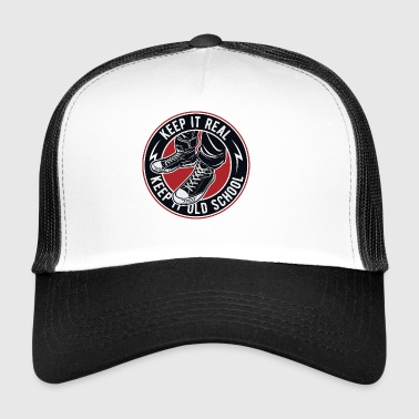 Keep It Old School - Sneaker shirt - Trucker Cap