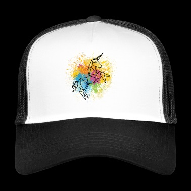 Unicorn graphic - Trucker Cap