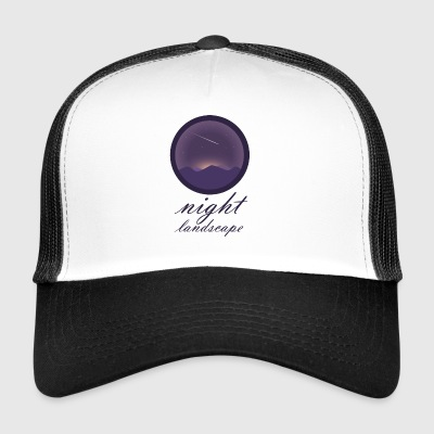 Landscape at night - Trucker Cap