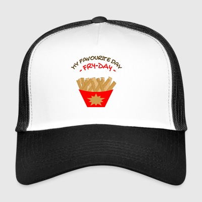Fry Day Freitag Fritten Pommes Tag Chips Fries - Trucker Cap