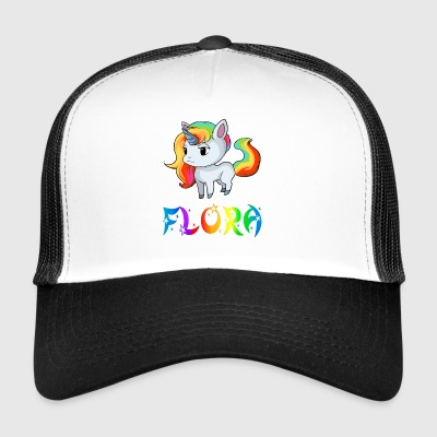 Unicorn flora - Trucker Cap
