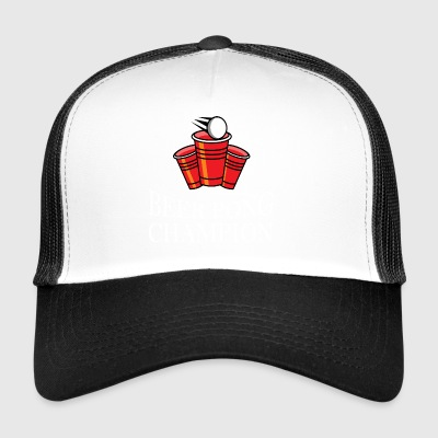 Beer Pong Champion drinking game - Trucker Cap