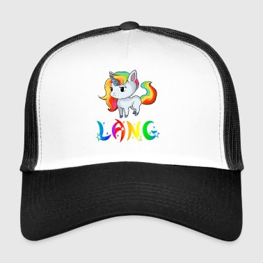 Unicorn Lang - Trucker Cap