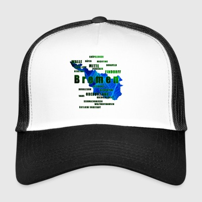 Bremen - its neighborhoods - Trucker Cap