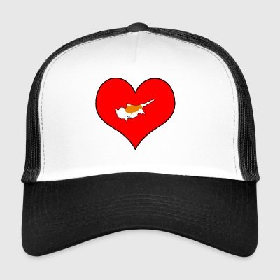 Love Land Europe EU Cyprus Cyprus - Trucker Cap