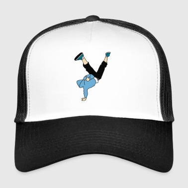 Break dance dancer - Trucker Cap