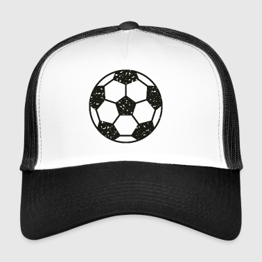 Football vintage noir - Trucker Cap