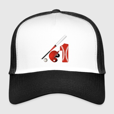 Baseball no. 1 rakieta gra Major League - Trucker Cap