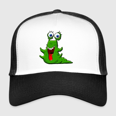 Happy Slime Green Monster - Trucker Cap