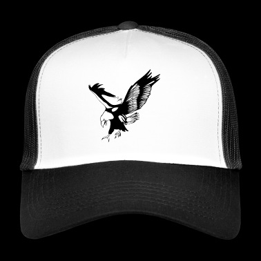 Eagle attacking - Trucker Cap