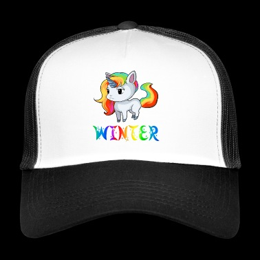 Unicorn vinter - Trucker Cap