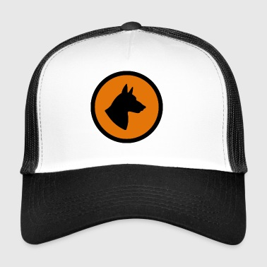 Dog hazard Warnschild Hund Animal Tiere - Trucker Cap