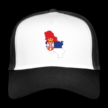 Serbia - Serbia - Country - Trucker Cap