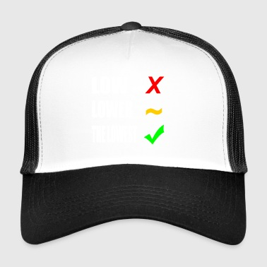 TUNING LOW Geschenkidee Motiv Design Style Cool - Trucker Cap