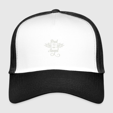 Dad to an Angel white - Trucker Cap