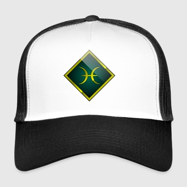 Pisces - zodiac signs - horoscope - Trucker Cap