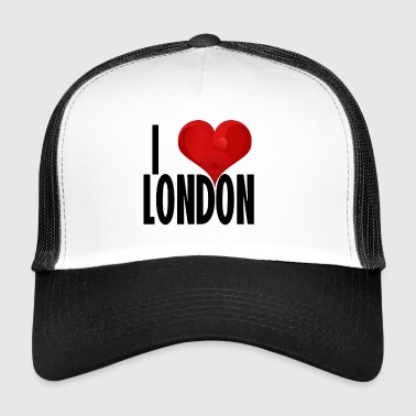 I LOVE LONDON black - Trucker Cap