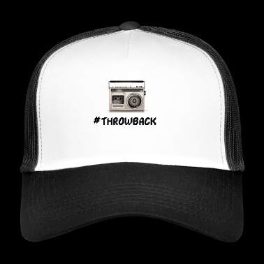 Throwback radio - Trucker Cap