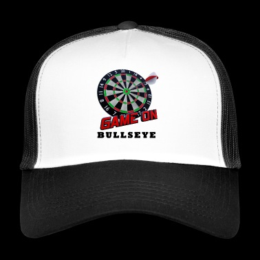 Darts Bullseye Game on - Trucker Cap