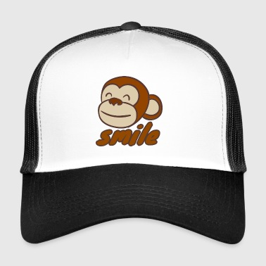 Smiling monkey - Trucker Cap